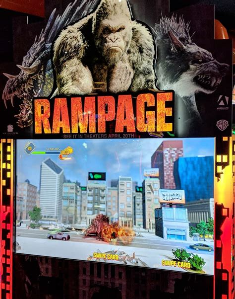 Rampage Isnt Your Typical Video Game Movie It