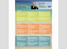Touch Marketing – Quarterly Calendars