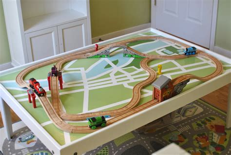 wood train table plans  woodworking