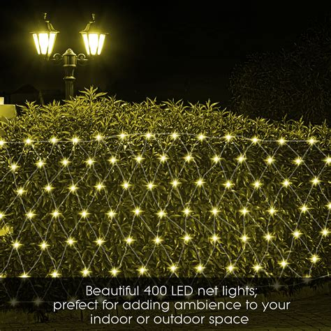 led icicle string net curtain lights outdoor