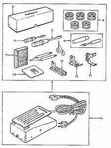 Kenmore 3851249380 Electronic Sewing Machine Parts