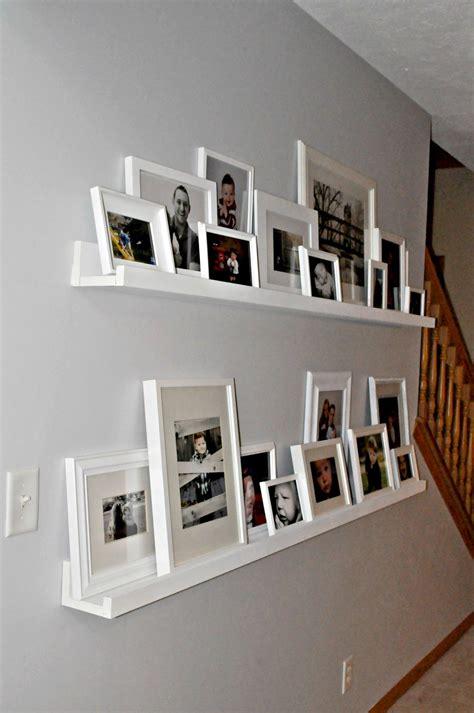 gallery ledge shelves always chasing life gallery shelves again