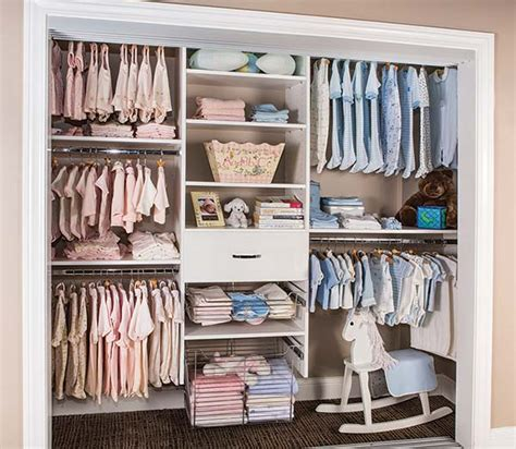 closet for baby reach in baby closets with storage