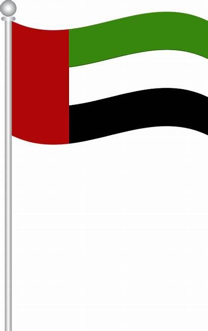 Uae Flag Clipart Line Thin Flags Transparent