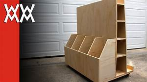 Make a rolling lumber cart Woodworking for Mere Mortals