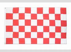 Kariert RotWeiß Fahne kaufen 90 x 150 cm FlaggenPlatzde
