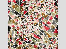 三角组合图形矢量图_潮流设计_三联