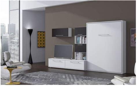 meuble de cuisine avec plan de travail armoire lit escamotable bora secret de chambre