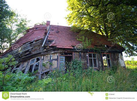 Verfallenes Haus Stockbild Bild Von Einsturz, Niemand
