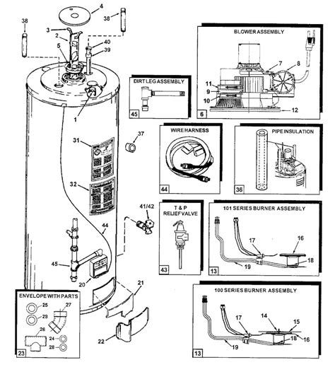 Smith Water Heater Thermostat Wiring Diagram Free