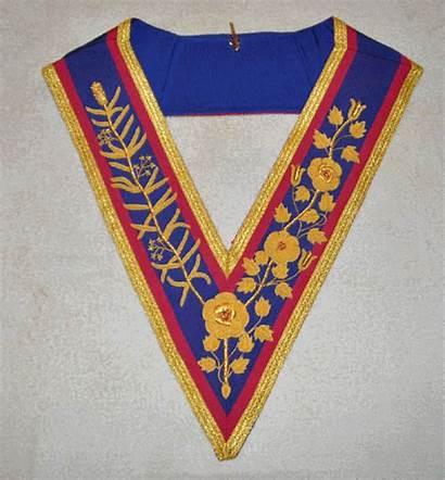 Collar Regalia Mark Apron Lodge Grand Masonic
