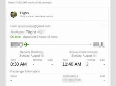 How to easily add flight itinerary to Google Calendar from