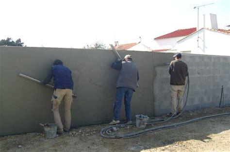 enduire un mur exterieur pas cher