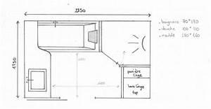 Salle De Bain 5m2 : nice amenagement salle de bain 5m2 5 mon plan de sdb ~ Dailycaller-alerts.com Idées de Décoration