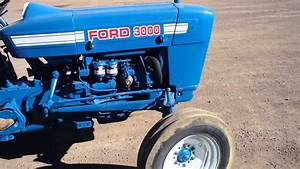 Tractor Ford 3000 De 38 Hp