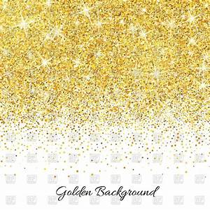 Gold glitter background Royalty Free Vector Clip Art Image ...