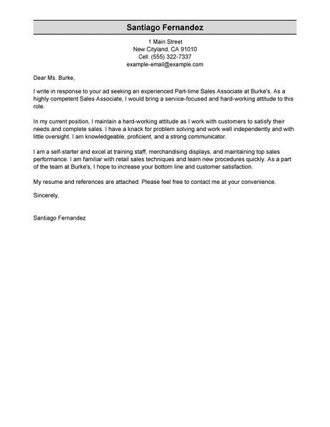 time resume cover letter application letter cover letter for part time