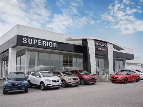 Superior Gmc Buick by Fayetteville Ar Dealership Superior Buick Gmc Serving