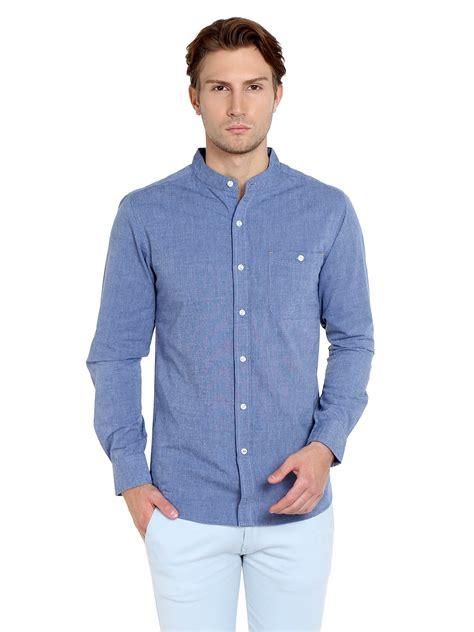 mandarin collar blouse navy mandarin collar shirt