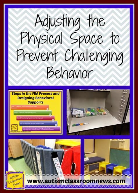 ways  adjust  physical space  prevent challenging