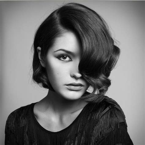 Short Hairstyles and Cuts   1920?s Short and Curled