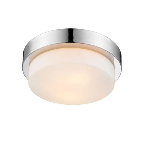 flush mount shop light maddox collection 2 light chrome flushmount 270mpch the