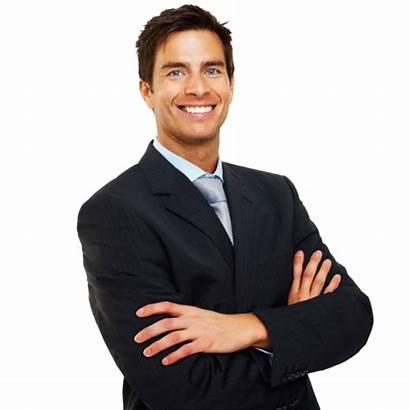 Businessman Transparent Suit Business Tag Smile Purepng