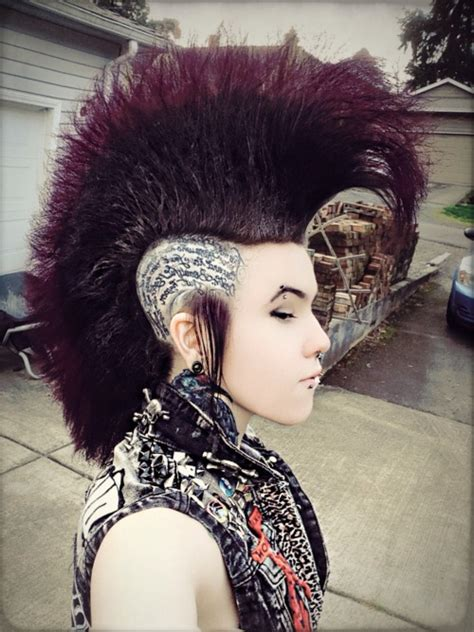 mohawk hairstyles tumblr