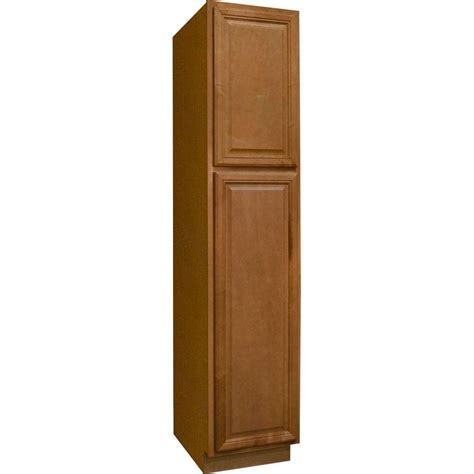 15 inch wide cabinet 15 inch wide pantry cabinet with hton bay cambria