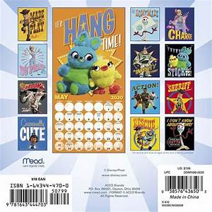 Toy Story 4 2020 Mini Wall Calendar