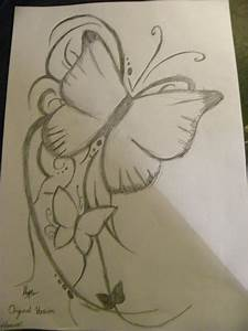 Butterfly Pencil Drawings Image Easy Drawing For Beginners ...