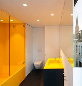 Modern Crisp Lines In Yellow Interiors By Color