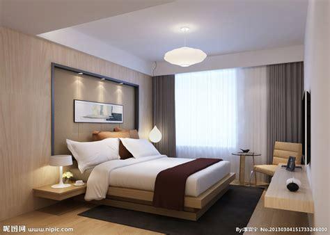 卧室设计图 3d作品 3d设计 设计图库 昵图网nipic