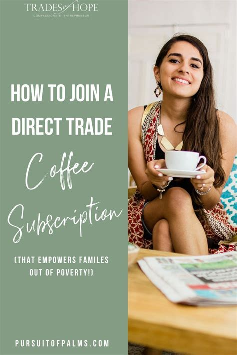 Is this coffee subscription worth trying? Trades of Hope Coffee Subscription   Direct Trade & Ethical   Kindred Movement with Tawny Austin ...