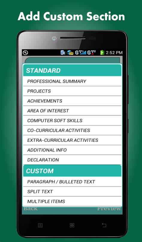 Best Free Resume Builder App by Resume Builder Pro 5 Minutes Cv Maker Templates Android Apps On Play