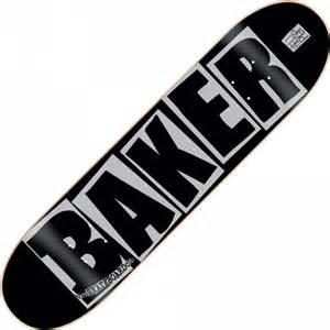 baker skateboards baker brand logo heli pop deck 8 0