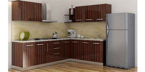 buy spacewood  shape kitchen  ply acrylic finish
