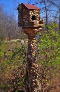 Stone Bird Houses