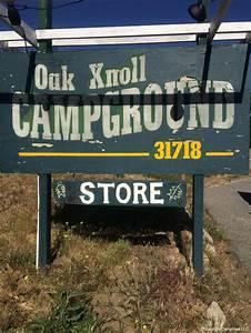 Oak, Knoll, Campground, Palomar, Mountain, California