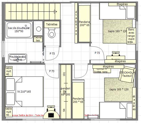 plan de maison en l avec 4 chambres projet de maison kangourou ou maison solidaire nos plans