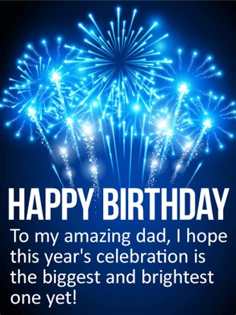 amazing dad happy birthday card birthday