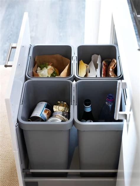 sneaky ways  hide  trash    kitchen digsdigs