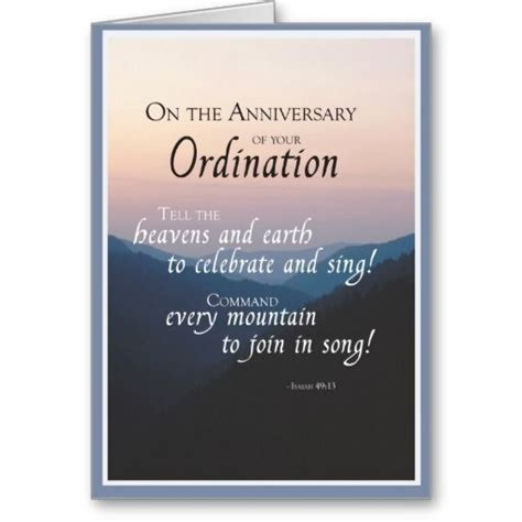 2687 anniversary of ordination card zazzle com religious life priests nuns deacons