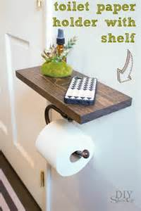 bathroom ideas decorating toilet paper holder shelf and bathroom accessoriesdiy show