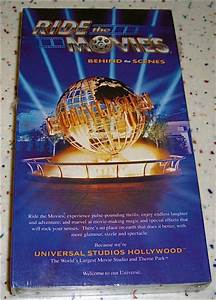 Ride The Movies Behind The Scenes Universal Studios Vhs