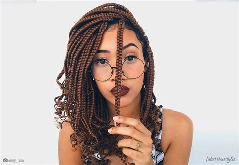 easy medium box braids    season