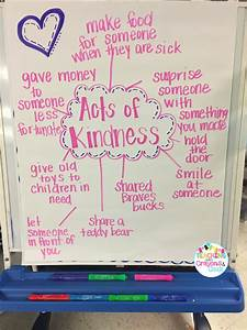 Act Score Chart The Primary Peach Spreading Kindness In The Classroom