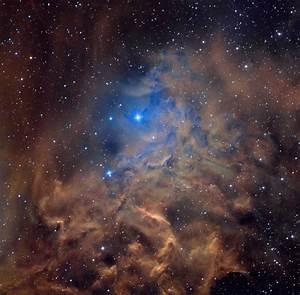 APOD: 2013 January 7 - AE Aurigae and the Flaming Star Nebula