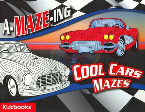 A-maze-ing Cool Cars Mazes By Tony Tallarico, Hardcover