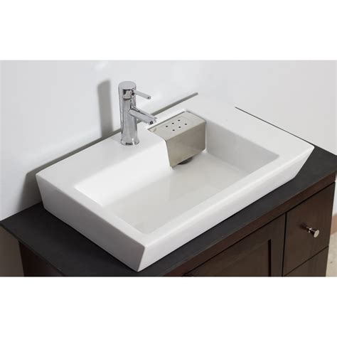 Rectangle Sinks Bathrooms by American Imaginations Wall Mounted Rectangle Vessel
